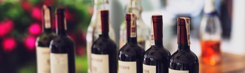 wino w butelkach