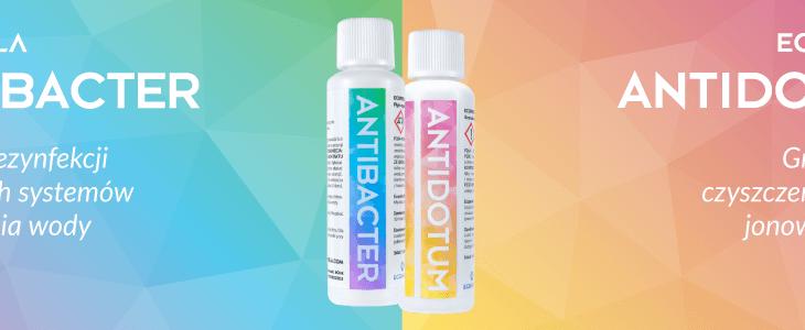 Ecoperla Antibacter i Ecoperla Antidotum - sposób na pielęgnację urządzeń filtracyjnych