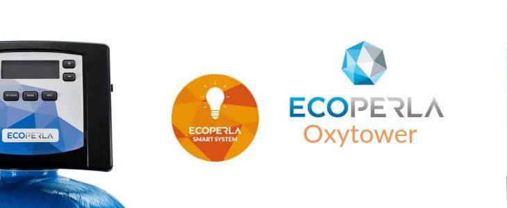 odżelaziacz i odmanganiacz z komorą sprężonego powietrza Ecoperla Oxytower