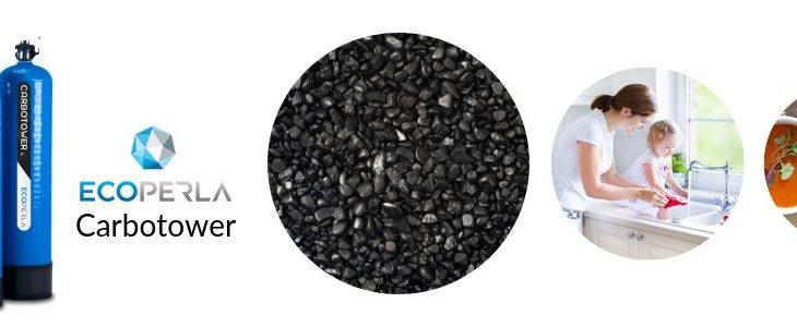 kolumna węglowa Ecoperla Carbotower z węglem aktywnym